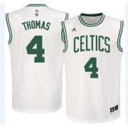Maglie NBA Isaiah Thomas 4# Home 2015-16 Canotte Boston Celtics..